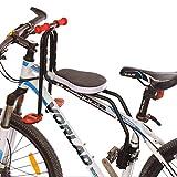 BANDRA Kindersitz Fahrrad Vorne mit Armlehne und Fußpedalen