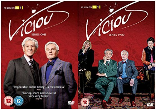 Vicious Complete ITV Series 1-2 DVD Collection + Extras : The Making of Vicious,Interviews with the