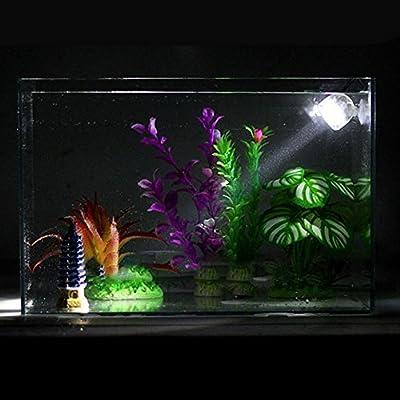 HYGMall 1PC Sous-Marine LED Lampe Étanche LED Aquarium Lumière Pour Réservoir de Poissons de Corail Réservoir Submersible Lampe Spot (norme européenne)