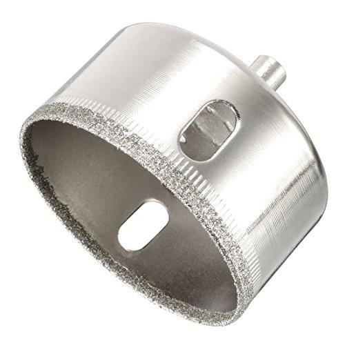 sourcing map Diamant Bohrer Lochsäge 60mm für Fliese Marmor Granit Fiberglas Keramik Werkzeug DE de