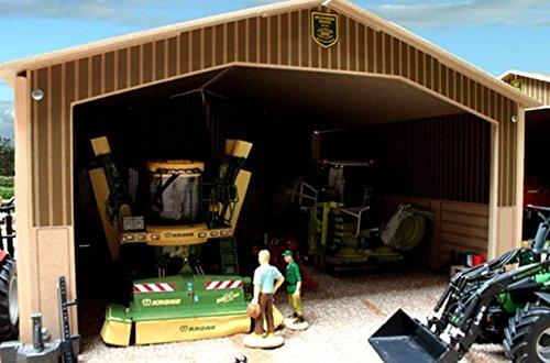 Bâtiment de type hangar de dimensions 41x68x23cm accessoires et matériels agricoles vendus séparément