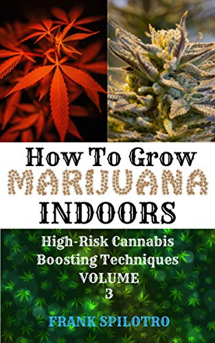 HOW TO GROW MARIJUANA INDOORS: High-Risk Cannabis Boosting Techniques (English Edition)