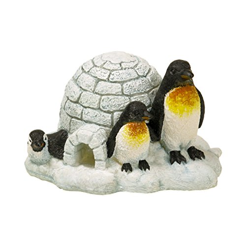 Blue Ribbon Pinguin Insel Exotic Umgebungen Aquarium Ornament