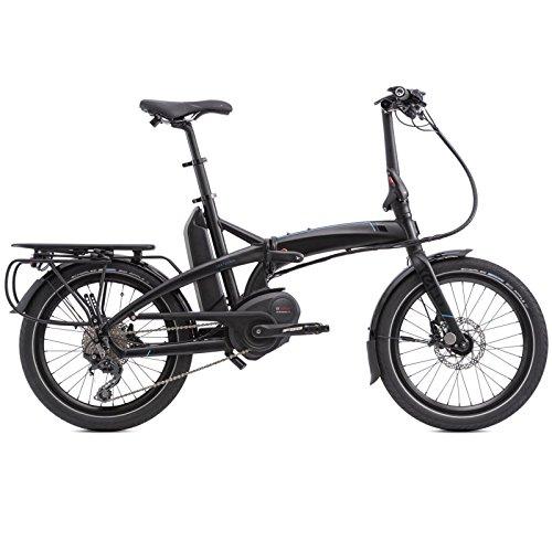 Tern Vektron S10 Elektro Klapp Fahrrad 20 Zoll Shimano 10 Gang E-Bike Elektrisch 250 Watt Motor, CB18EESE10HLRBB23