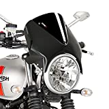 Windschild Suzuki GS 500/ E 89-08 Puig Vision schwarz-schwarz