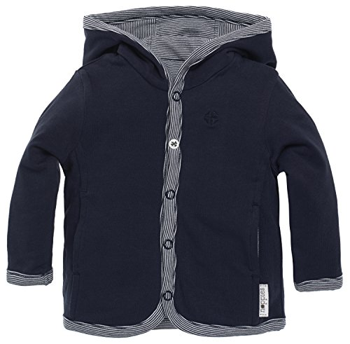 Noppies Kids B Cardigan Jersey Rev Joke Punto, Blau (Navy C166), 6...