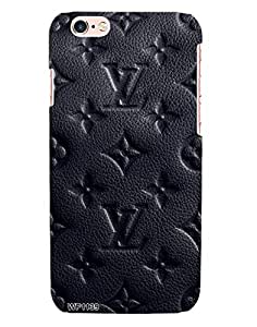 cdc5157bbe27 ... Cases   Covers  Louis Vuitton Black Leather Case for Apple iPhone 6+    6s+ from Wrap On!