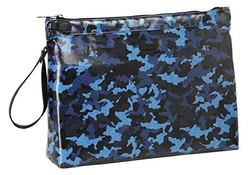 safta- Neceser Grande Color Azul, Negro, 33 cm (861638594)