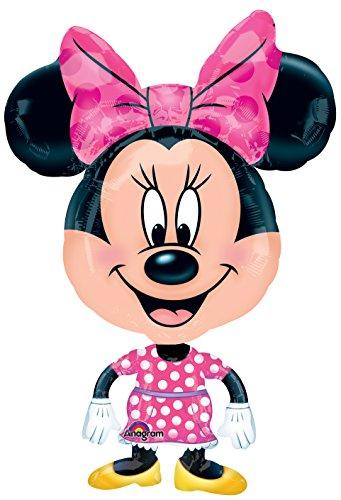 Amscan Awk - Globo con diseño de Minnie Mouse