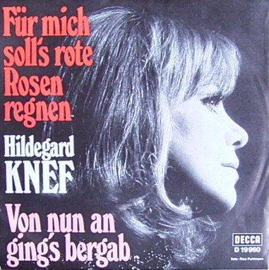 Für mich soll's rote Rosen regnen / Von nun an ging's bergab [Vinyl Schallplatte] [Single] (Rote Rose Single)
