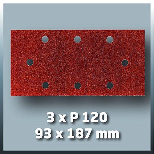 Einhell Schwingschleifer TC-OS 1520 (150 W, 187x90 mm, Absaugadapter, 3x Klett-Schleifpapier P120)