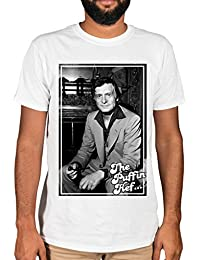 Ulterior Clothing The Puffin Hef Graphic T-Shirt Playboy
