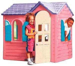 little tikes 440r00060 maison de jardin cottage rose jeux et jouets. Black Bedroom Furniture Sets. Home Design Ideas