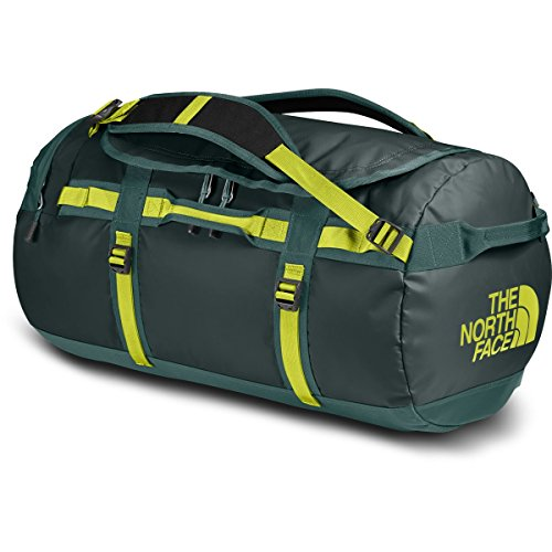 The North Face Base Camp Duffel Reisetasche - Gröβe Large, Uni Base Camp Duffel Reisetasche - Gröβe Large, Darkest Spruce/Silver Pine Green,Einheitsgröße EU (North Face Green)