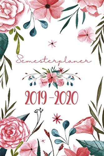 Semesterplaner 2019-2020: Ein Timer, Studium Kalender und Studienplaner von September 2019 bis Oktober 2020 für Studenten - Der Studentenkalender, Semesterkalender und Terminkalender 2019 - 2020