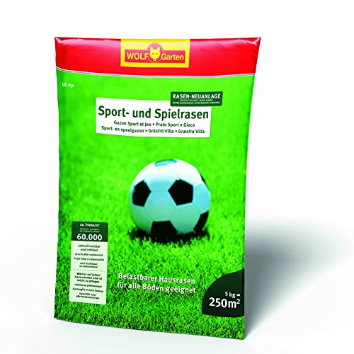 WOLF-Garten Saatgut, LG 250 Sport- und Spielrasen für 250 m², 3825030