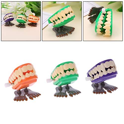 sunhoyu Neuheit Plastik Tier Spielzeug ,Halloween Party Trick Spielzeug, Uhrwerk Springen Prothese Pädagogisches Mechanisches Spielzeug Halloween Streich Dekoration