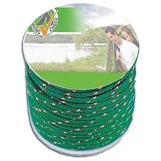 Nylon-Abspannleine (20Meter Schnur, 4mm stark, extra leicht, grün)
