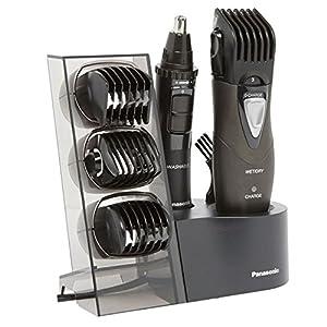 Panasonic ER-GY10CM504 Multitrimmer Set für Körper und Gesicht, schwarz