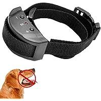 Ociodual Collar Ajustable de Adiestramiento por Sonido, Antiladridos, Canino para Perros con 7 Niveles de sensibilidad Ajustable