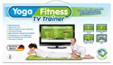 Yoga & Fitness TV Trainer - Interaktive Fitnessmatte mit über 40 Fitnessübungen und 19 Trainingprogrammen