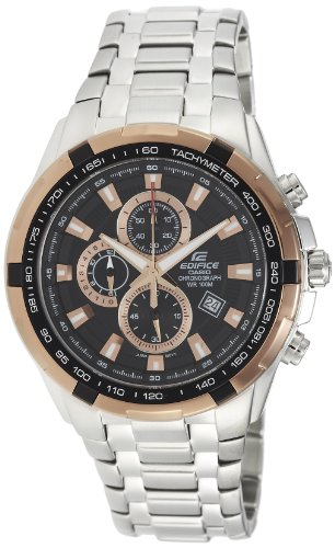 Casio Edifice Chronograph Multi-Color Dial Men's Watch-EF-539D-1A5VDF (ED368)
