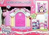 My Little Pony G3: Celebration Castle Playset avec musique, lumières et bébé Poney Rose Sunsparkle