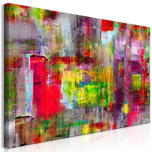 murando Mega XXXL Abstrakt Wandbild 170x85 cm - Einzigartiger XXL Kunstdruck zur Selbstmontage Leinwandbilder Moderne Bilder Wanddekoration - bunt a-A-0217-ak-e