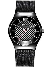 BERING Time Herren-Armbanduhr Slim Ceramic 32039-449
