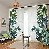 Vorhang Blickdichte Vorhänge Gardinen Wohnzimmer Gardine Mit Ösen Energiespar & Wärmeisolierend Dekoschal Vorhang Polyester-Gewebe,1.5 * 2.7M