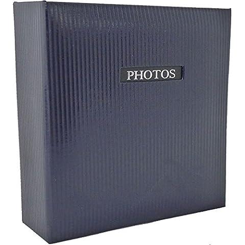 Elegance azul–álbum de fotos tradicional (60partes general Tamaño 9,75