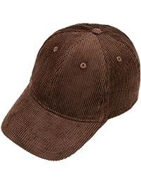 b3b90477bb8cc Amazon.es  gorra marron de pana con visera - Incluir no disponibles  Ropa