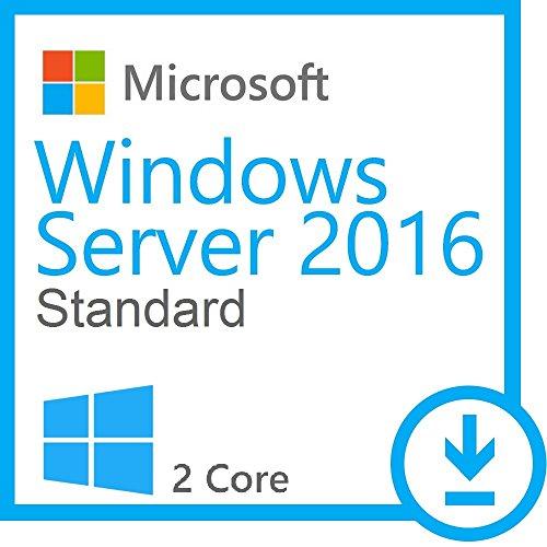 Microsoft Windows Server 2016 Standard - 2 CPU