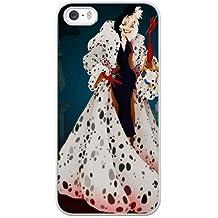 Generic Cell Phone Case for Funda iphone 5 5S SE White Cruella de Vil 101 Dalmatians F8C1BD
