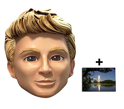 Gordon Tracy Thunderbirds Are Go Single Karte Partei Gesichtsmasken (Maske) Enthält 6X4 (15X10Cm) starfoto