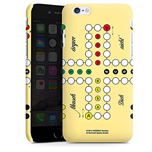 Apple iPhone X Silikon Hülle Case Schutzhülle Mensch ärger Dich nicht Spielbrett Bunt Premium Case matt