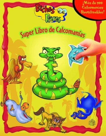 Bichos raros / Weird Insects (Super Libro De Calcomanas)