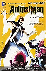 Animal Man Vol. 5: Evolve or Die! (The New 52) by Jeff Lemire (2014-11-11)