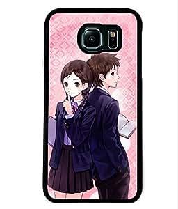 Fuson 2D Printed Love Designer back case cover for Samsung Galaxy S6 - D4605