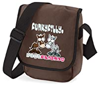 Funky Filly Girls Pony Best Friends Shoulder Bag Chocolate Brown Size 23 x 17 x 7 cms