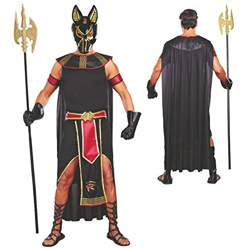 Kostüm Anubis Gr. M - XXL Ägypten Antike Gott der Unterwelt (Kostüm Schakal Anubis)
