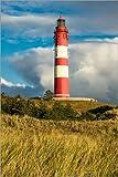 Poster 60 x 90 cm: Leuchtturm auf der Insel Amrum von Rico