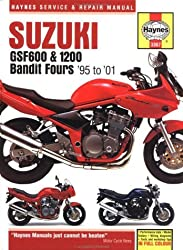 Suzuki GSF600 and 1200 Bandit Fours Service and Repair Manual: 1995-2001 (Haynes Service & Repair Manuals) by Matthew Coombs (2001-11-12)