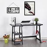 innovareds Stilvolle Einfache platzsparende Schreibtisch HOME Schreibtisch Tisch Büro Aufgabe Tisch Konsole Wohnzimmer Flur Seite Board schwarz