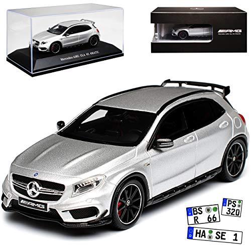 Preisvergleich Produktbild alles-meine.de GmbH Mercedes-Benz GLA 45 AMG X156 SUV Silber Ab 2013 1 / 43 Spark Modell Auto