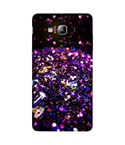 Glitter 2 Printed Back Cover Case For Samsung Galaxy On7