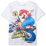 Super Mario Jungen T-Shirt - Weiß - 128