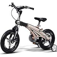 XMIMI Bicicleta Bicicleta de montaña de aleación de magnesio Marco Adecuado para Estudiantes y niños de una Sola Velocidad de 16 Pulgadas
