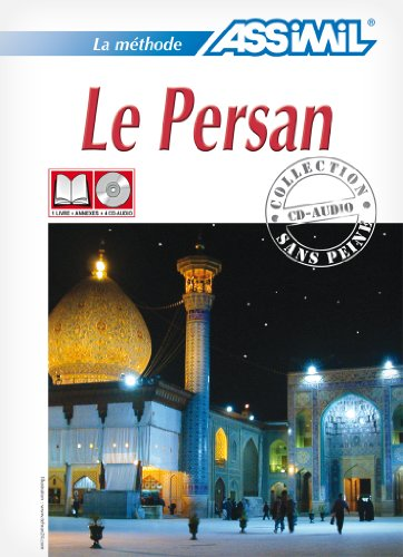 Le Persan ; Livre + CD Audio (x4) par Muhammad-Hossein Karimi, Dominique Halbout