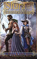 Shara and the Haunted Village: Illustrated Edition (Bryanae Series Book 1) (English Edition)